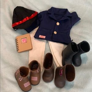 American Girl Doll Horse outfit